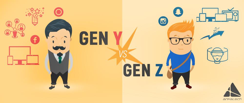 Marketing- Gen Y Vs Gen Z